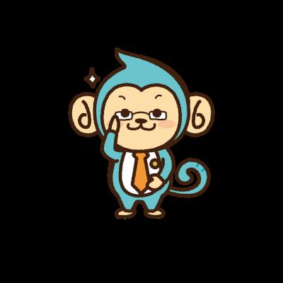 (公)東京都不動産鑑定士協会公式キャラクター「コンさる」くん
